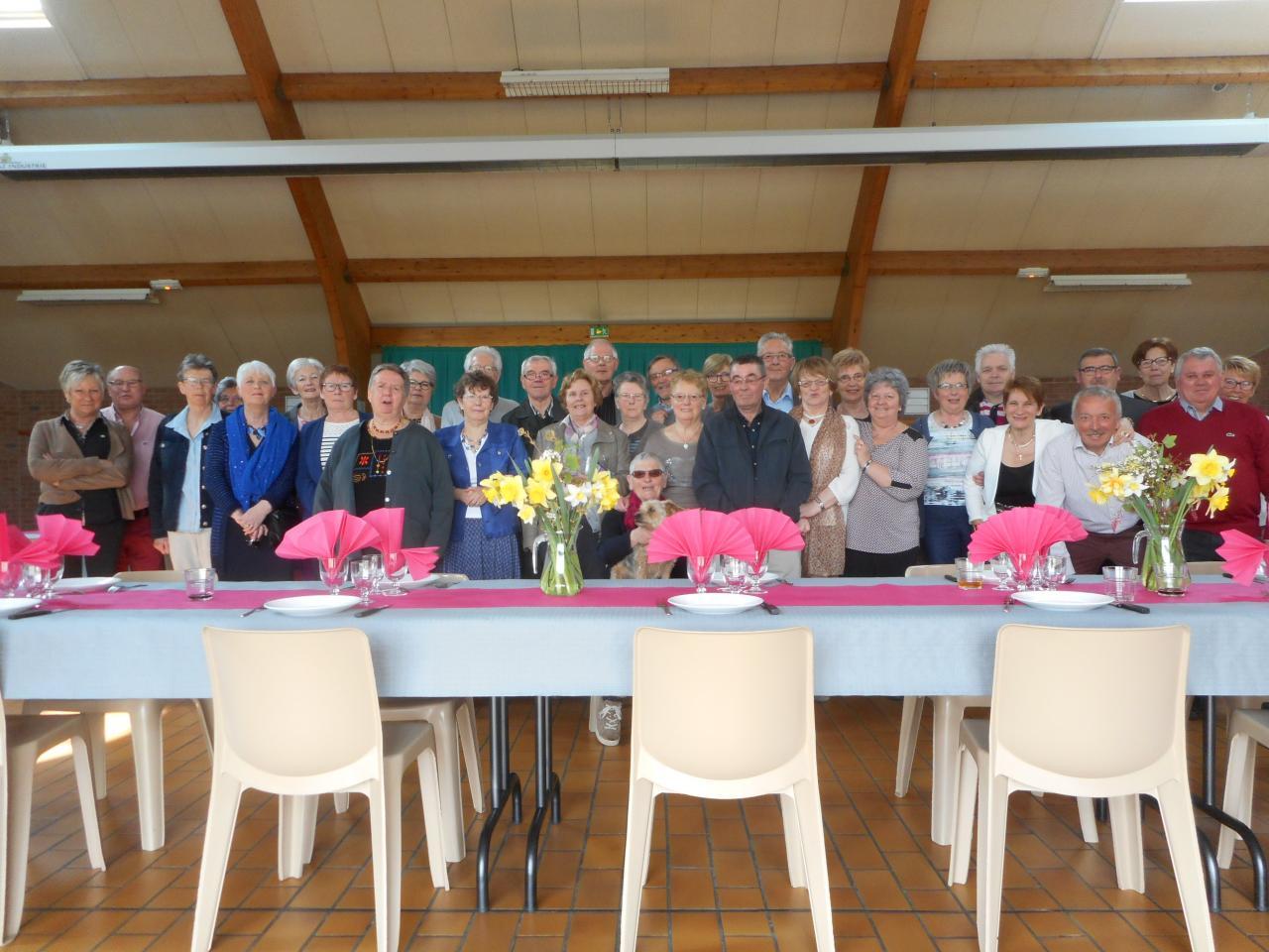 02 avril 2016 repas annuel de l'association.
