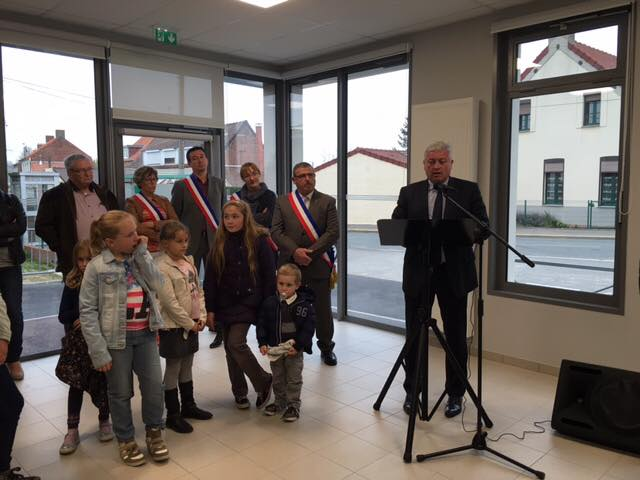 Inauguration du Groupe Scolaire