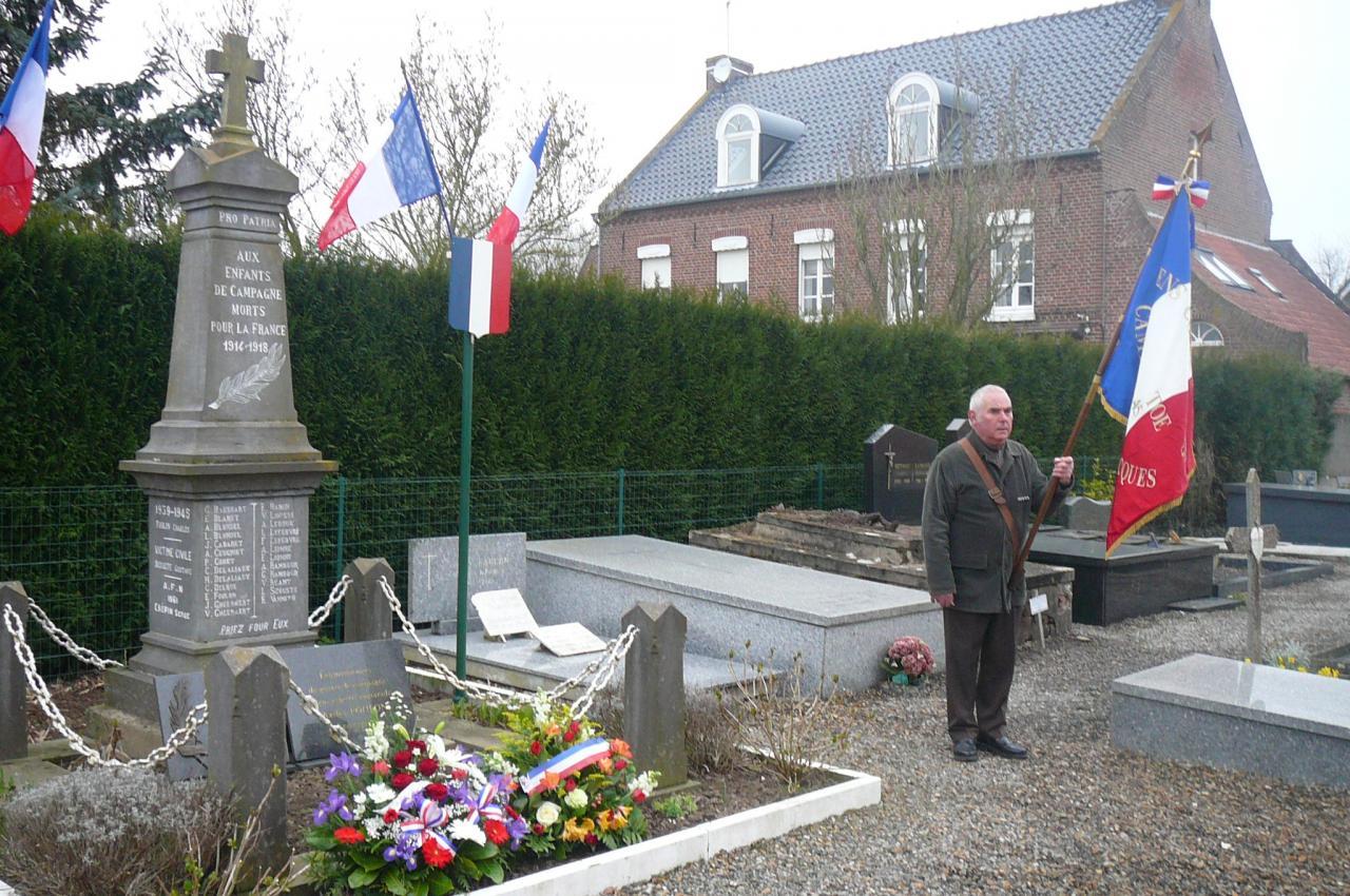 Hommage aux Morts pour la France de la Guerre d'Algérie
