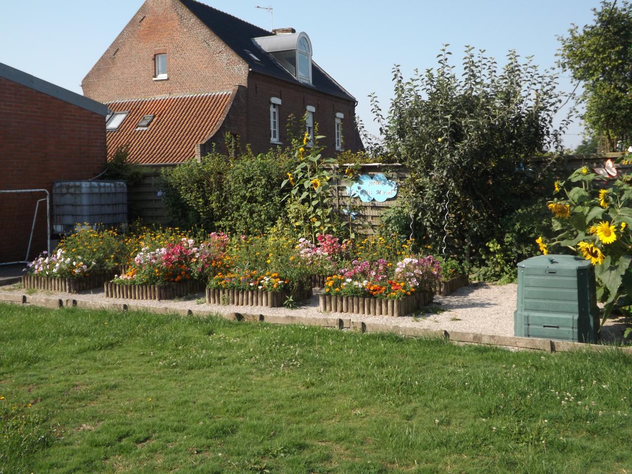 le jardin de l'école Marcel Pagnol