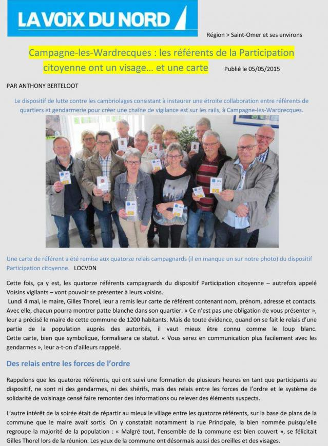 14 referents a campagne lez wardrecques 1