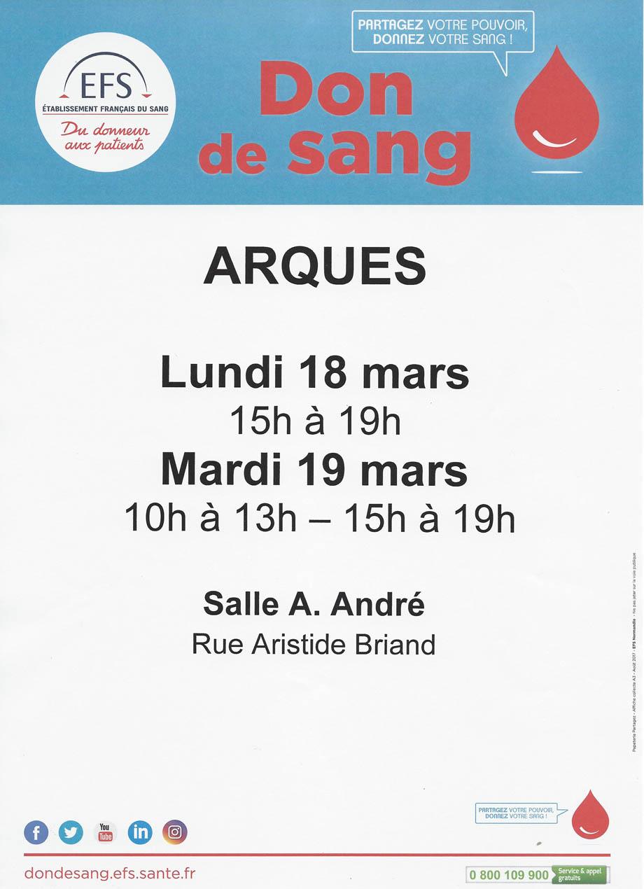 Affiche 18 et 19 mars 2019