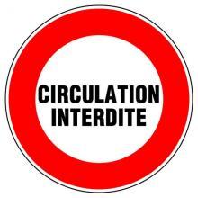 Circultation interdite