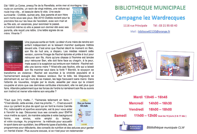 Info bibliotheque