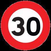 Limitation de vitesse 30km