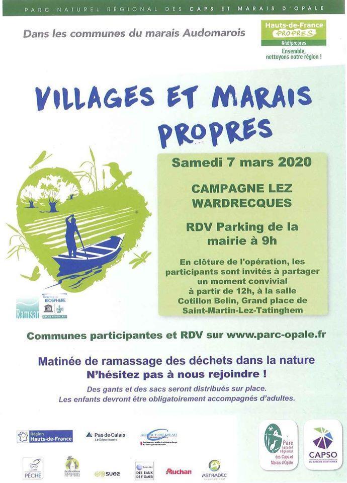 Village propre campagne 1